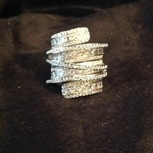 Jewelry - Multi layered Crystal Ring